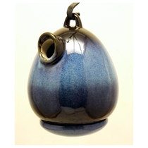 Picture of BYER OF MAINE-Egg Bird Home - (Cobalt Blue)