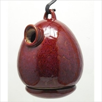Picture of BYER OF MAINE-Egg Bird Home - (Oxide Red)