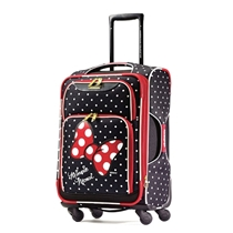 Picture of AMERICAN TOURISTER-21 - Inch Disney All Ages Softside Spinner - (Minnie Mouse Red Bow)