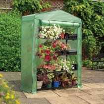 Picture of GARDMAN-4 - Tier Extra Wide Growhouse Greenhouse