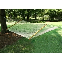 Picture of CASTAWAY HAMMOCKS-Deluxe Polyester Rope Hammock - (White)