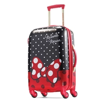 Picture of AMERICAN TOURISTER-21 - Inch Disney All Ages Hardside Spinner - (Minnie Mouse Red Bow)