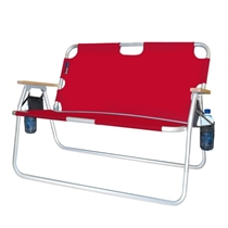 Picture of ALGOMA-Patented Tailgater 2 Person Folding Sport Couch - (Red)