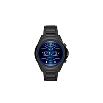 Picture of ARMANI EXCHANGE-Mens Stainless Steel Touchscreen Smartwatch - (Black)