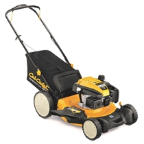 Picture of CUB CADET-3 in 1 High Wheel Push Mover - (Yellow) - (Black)