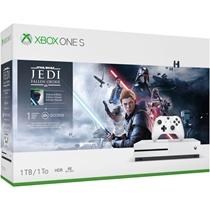 Picture of MICROSOFT-Xbox One S with Star Wars: Fallen Jedi - (1TB)