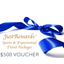 Picture of JUST REWARDS-$500 JustRewards Sports and Experiential Travel Gift Card