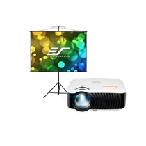 Picture of ACER-1080P Home Theater Projector And 96 Tripod Screen