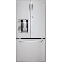 Picture of LG APPLIANCES-24 - Cubic Foot Door-In-Door Refrigerator - (Stainless Steel)