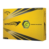 Picture of CALLAWAY GOLF-2017 Warbird Golf Balls - Yellow