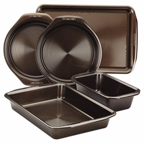 Picture of CIRCULON-5pc Bakeware Set Chocolate Brown