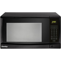 Picture of DANBY-1.1 Cu. Ft. 1000W Countertop Microwave Oven in Black