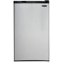 Picture of DANBY-Energy Star 3.2 Cu. Ft. Compact Refrigerator/Freezer with Spotless Steel Door