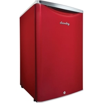 Picture of DANBY-Contemporary Classic 4.4 Cu. Ft. Compact All Refrigerator in Scarlet Red Metallic