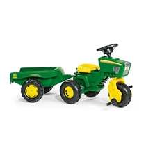 Picture of KETTLER USA-John Deere 3 Wheel Tractor with Trailer