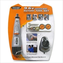 Picture of ALLIED INT'L-Chicago Power Tool 9.6 Cordless Rotary Tool Set
