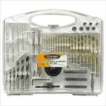Picture of ALLIED INT'L-Chicago Power Tools 75-Piece Power Drill Accessory Kit