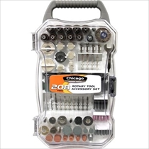 Picture of ALLIED INT'L-Chicago Power Tools 208-Piece Rotary Tool Accessory Set