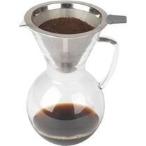 Picture of BIALETTI-Pourover 6-Cup Carafe - Glass