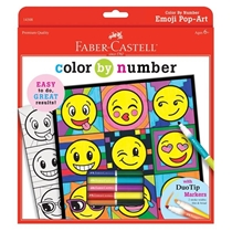 Picture of CREATIVITY FOR KIDS-Color By Number Emoji Pop-Art