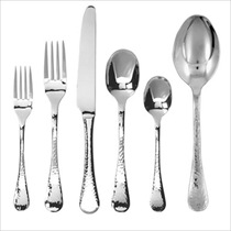 Picture of GINKGO CUTLERY-42Pc 18/0 Stainless Flatware Set-Lafayette