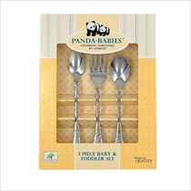 Picture of GINKO CUTLERY-3Pc Stainless Baby & Toddler Flatware Set