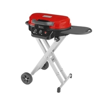 Picture of COLEMAN-Road Trip® 225 Stand-Up Grill, 11K BTU, 225 square inch, 2 burner - Red