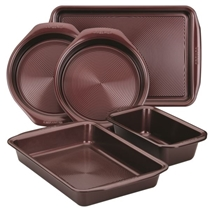 Picture of CIRCULON-5pc Nonstick Bakeware Set Merlot