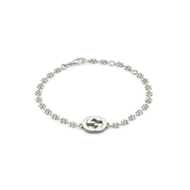Picture of GUCCI-Interlocking G Motif Bracelet - (Sterling Silver)