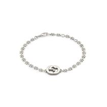Picture of GUCCI-Interlocking G Motif Bracelet - (Sterling Silver)