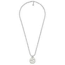 Picture of GUCCI-Boule Chain Necklace With G Motif Pendant
