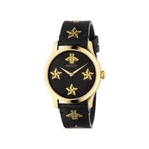 Picture of GUCCI-38mm - Unisex G Timeless Contemporary Leather Watch