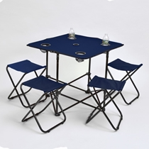 Picture of AAA INNOVATIONS-Stadium Table And Chairs - (Navy)