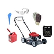 Picture of HONDA-21 - Inch Push Side Discharge/Mulcher Lawn Mower Package