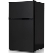Picture of KEYSTONE-Energy Star 3.1 Cu. Ft. Compact 2-Door Refrigerator/Freezer - Black