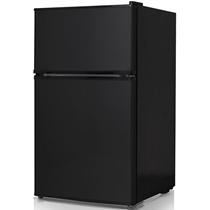 Picture of KEYSTONE-Energy Star 3.1 Cu. Ft. Compact 2-Door Refrigerator/Freezer - Black