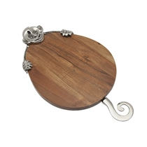 Picture of GODINGER-Monkey Cheese Board with Knife