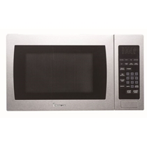 Picture of MAGIC CHEF-0.9 Cu. Ft. - 900 Watts - Microwave Oven - Stainless Steel
