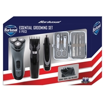 Picture of BARBASOL-Rechargeable Power Single Blade Wet/Dry Electric Shaver Grooming Kit