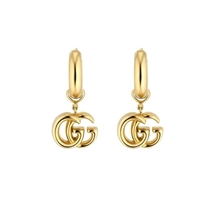 Picture of GUCCI-18 KT Running Earrings In Yellow Gold