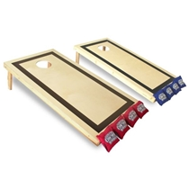 Picture of DRIVEWAY GAMES-Tradtional Bag Toss Game - Wood 23.5 x 47.5 Surface