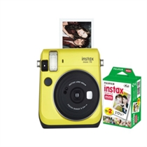Picture of FUJIFILM-Instax Mini 70 with 20-Exp Film - (Yellow)