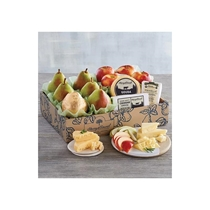 Picture of HARRY & DAVID-Pears Apples & Cheese Gift Deluxe