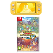 Picture of NINTENDO-Switch Lite with Pokemon Mystery Dungeon: Rescue Team DX - (Yellow)