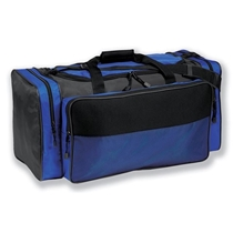 Picture of PREMIUMBAG-26 inch Nylon/Neoprene Duffel Bag - Royal/Black
