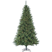 Picture of FRASER HILL-7.5-Ft. Canyon Pine Christmas Tree with Smart String Lighting