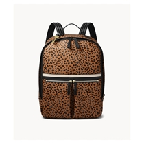 Picture of FOSSIL-Tess Laptop Backpack - (Animal Print)