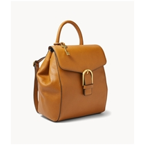 Picture of FOSSIL-Liv Leather Backpack - (Camel)