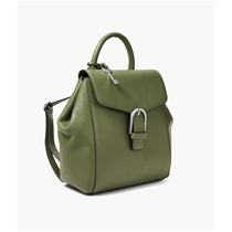 Picture of FOSSIL-Liv Leather Backpack - (Olive)