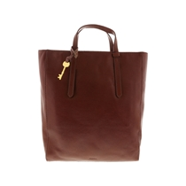 Picture of FOSSIL-Camilla Convertible Leather Backpack - (Brown)